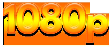 1080P Text logo